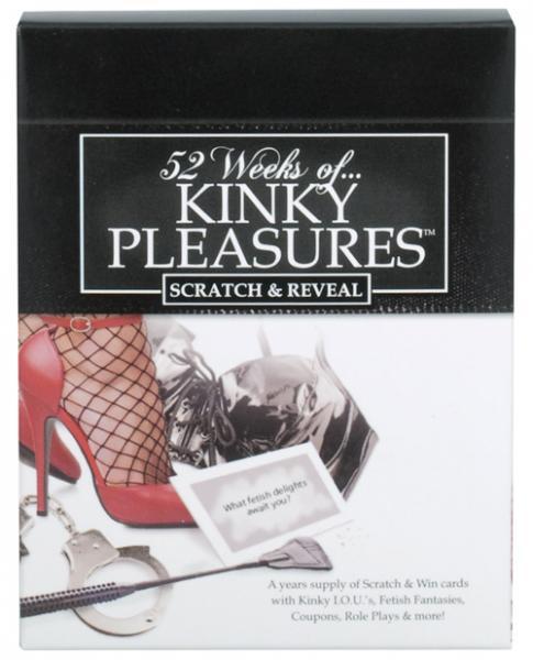 52 Weeks Of Kinky Pleasures Scratch Off Cards