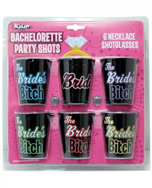 Bachelorette Party Shots Bride's Bitch 6 Pack