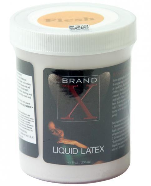 Liquid Latex Body Paint Flesh 8oz