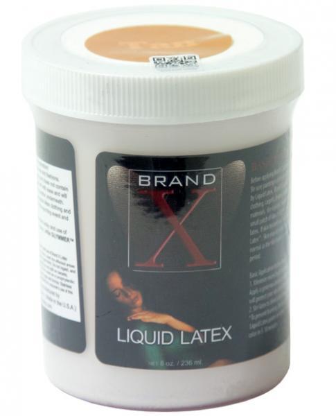 Brand X Liquid Latex Tan 8oz