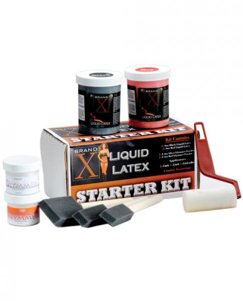 Brand X Liquid Latex Starter Kit