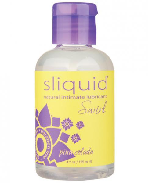 Sliquid Swirl Lubricant Pina Colada 4.2oz