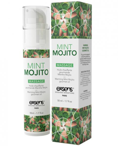 Exsens Of Paris Massage Oil Mint Mojito 1.7oz