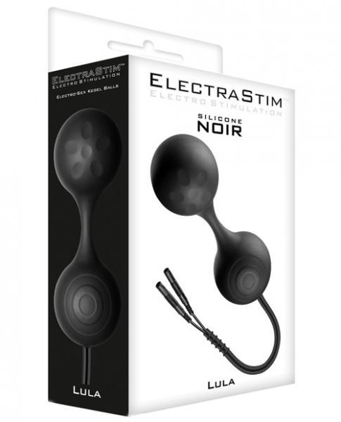 Electrastim Accessory Silicone Noir Lula Kegel Balls