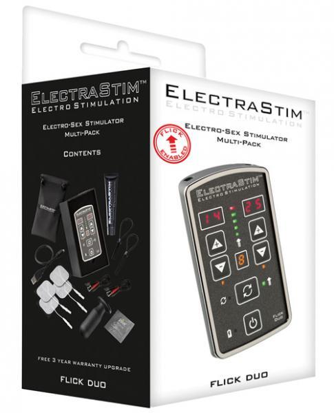 Electrastim Duo Stimulator Multi Pack