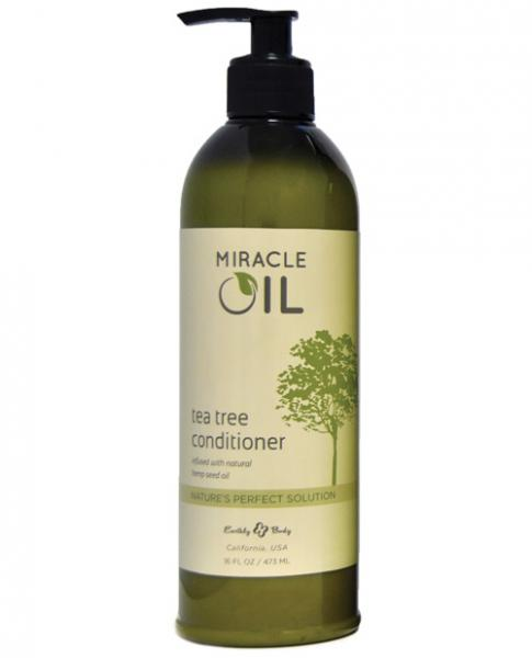 Earthly Body Miracle Oil Conditioner Tea Tree 16oz