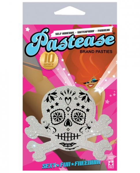 Pastease Day Of The Dead Skull Pasties White O/S