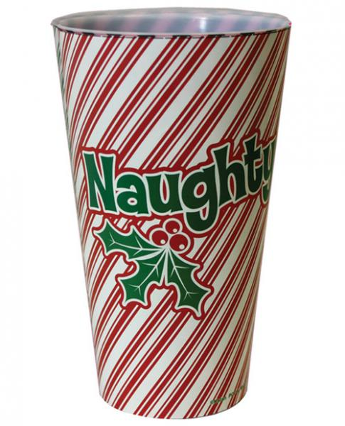 Naughty (Front) Nice (Back) Drinking Cup
