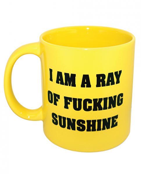 Attitude Mug I Am A Ray Of F*cking Sunshine Yellow