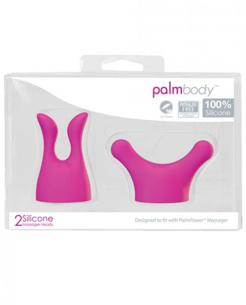 Palm Power Body Attachments 2 Pack Pink