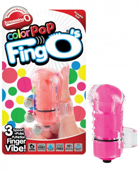 Color Pop Fingo Finger Vibrator