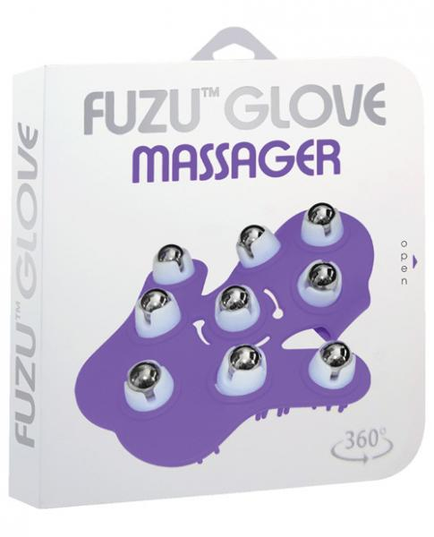 Fuzu Roller Purple Glove Massager