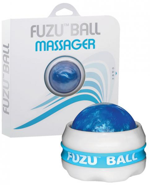 Fuzu Ball Massager Neon Blue