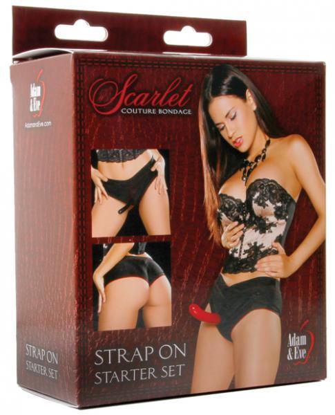 Scarlet Couture Bondage Strap On Starter Set