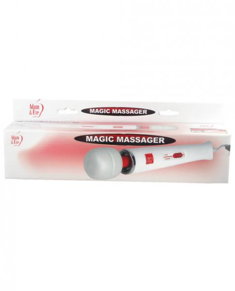 Magic Massager White/Red AC Electric