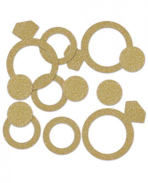 Diamond Ring Deluxe Sparkle Confetti Decorations