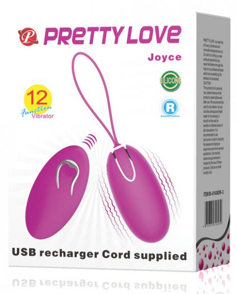 Pretty Love Joyce Purple Bullet Vibrator