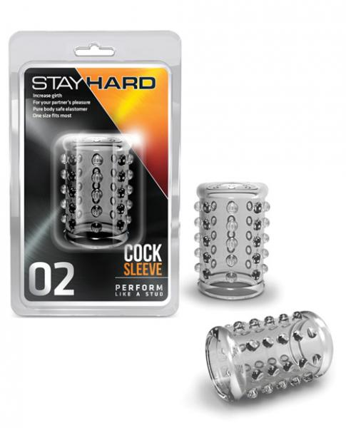 Stay Hard Cock Sleeve 02 Clear