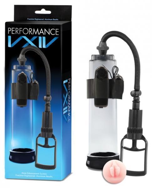 Performance VXIV Male Enhancement Pump Clear