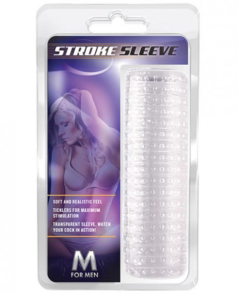 5.5 Inch Jelly Stroke Sleeve Clear
