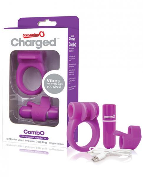 Screaming O Charged Combo Kit #1 - Purple