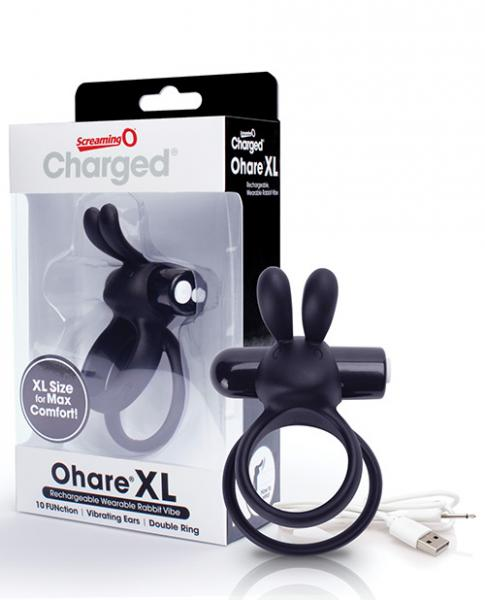 Screaming O Charged Ohare Xl Mini Vibe - Black