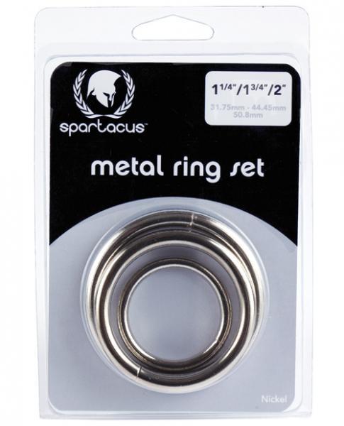 Nickel Ring Set 3 Pack