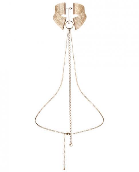 Bijoux Indiscrets Desir Metallique Collar Gold