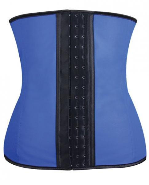 Gym Work Out Waist Trainers Blue Large