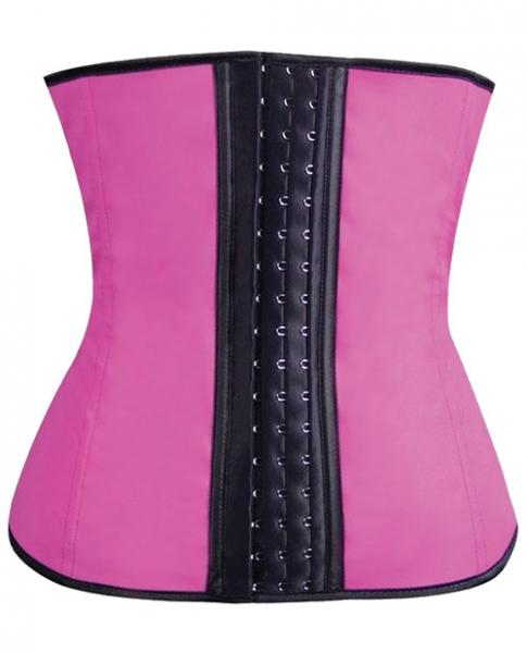 Gym Work Out Waist Trainers Hot Pink Medium