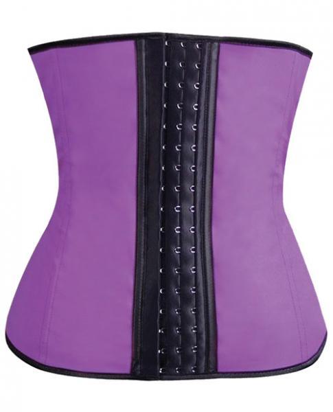 Gym Work Out Waist Trainers Purple Medium