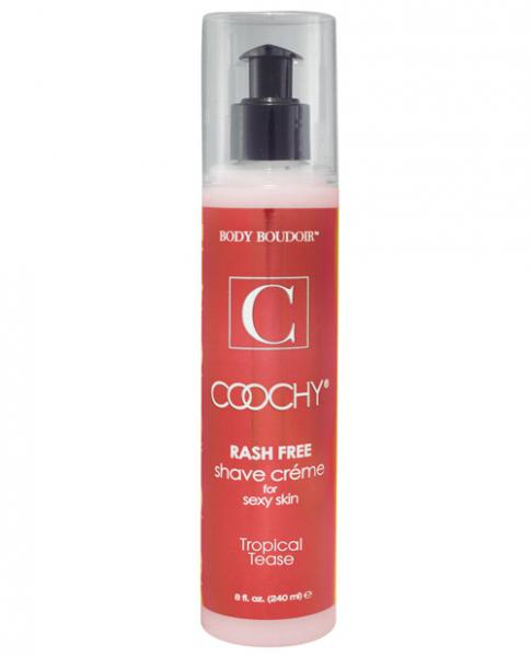 Coochy Shave Creme Tropical Tease 8oz