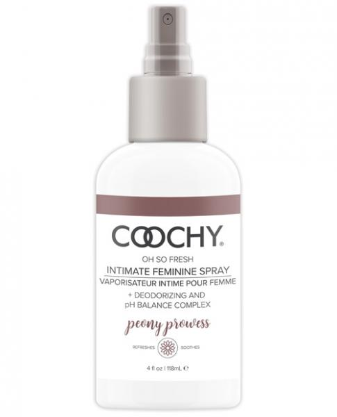 Coochy Intimate Feminine Spray Peony Prowess 4 fluid ounces