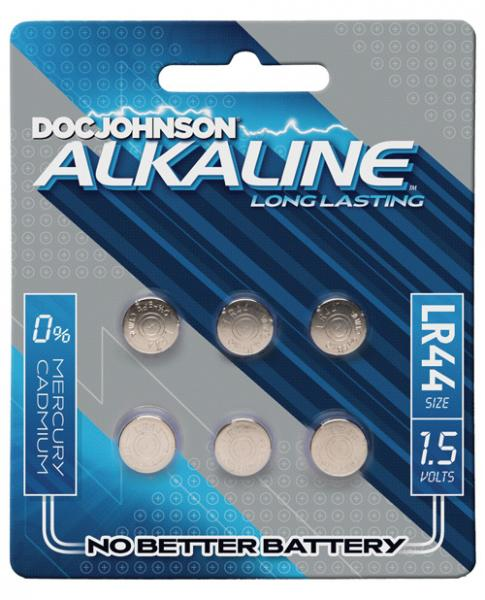 Doc Johnson Alkaline Batteries LR44 6 Package