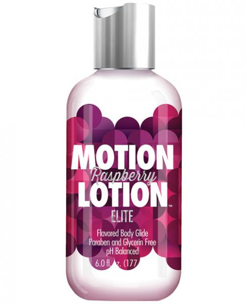 Motion Lotion Elite Raspberry 6oz