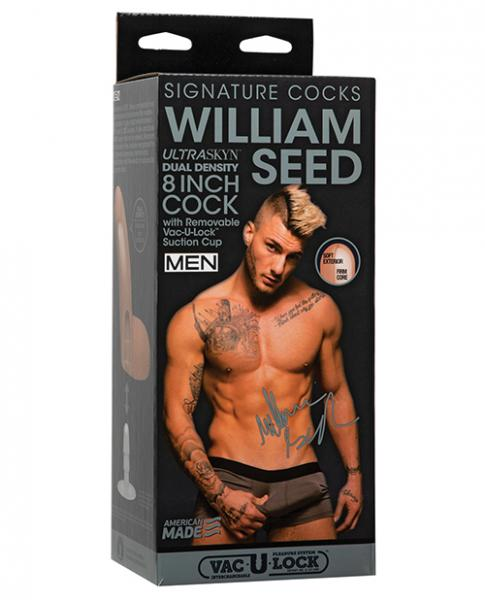 Signature Cocks William Seed 8 Inches Replica Dildo