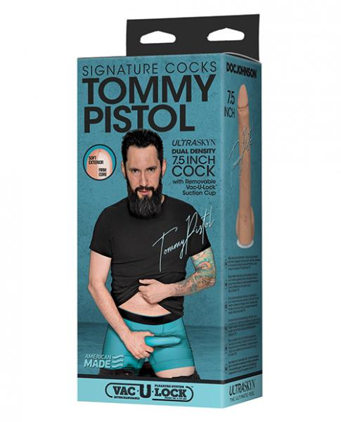 Signature Cocks Tommy Pistol 7.5 inches Ultraskyn Cock
