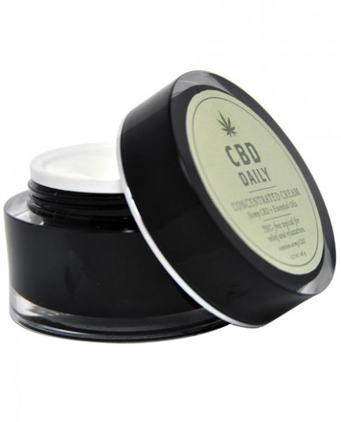 Earthly Body CBD Daily Concentrated Cream 1.7oz