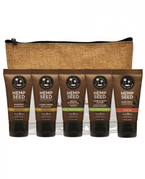 Earthly Body Holiday Sampler Assorted Bath Naked In The Woods