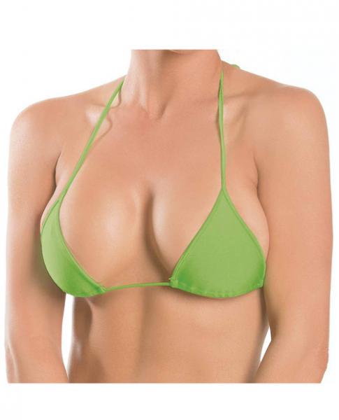 Triangle Top Lime Green O/S