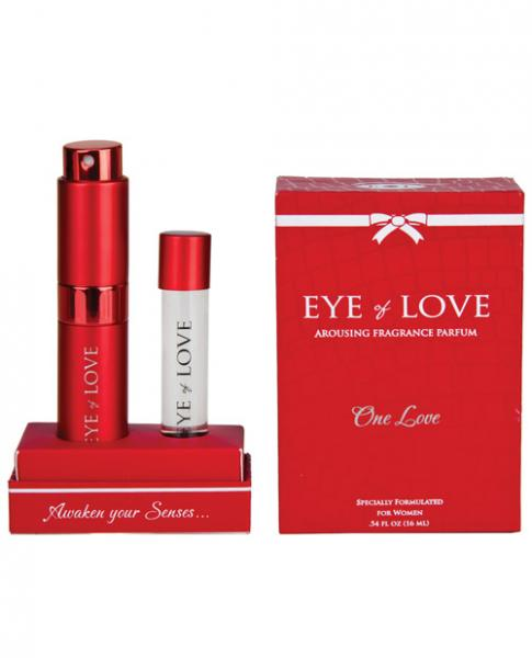 Eye Of Love One Love Arousing Pheromone Parfum & Refill .54oz