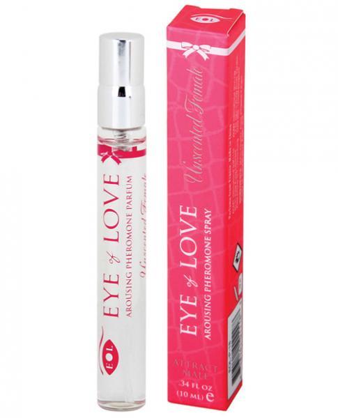 Eye Of Love Unscented Female Arousing Pheromone Spray .34oz