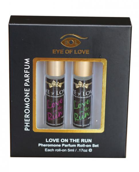 Eye Of Love Male To Male Pheromone Roll-On Set Of 2