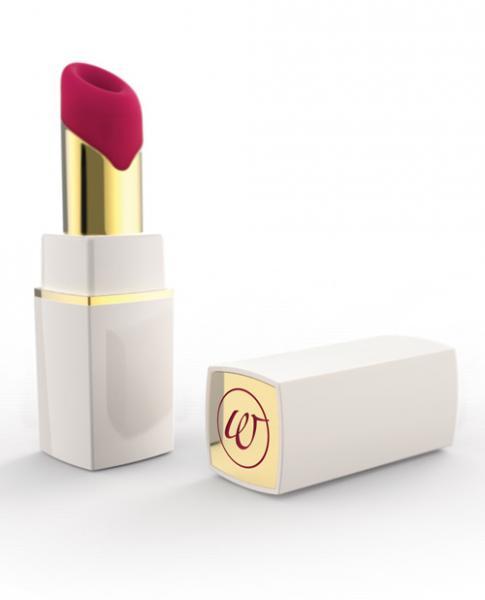 Womanizer 2 Go White Gold Lipstick Vibrator