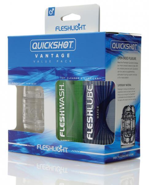 Fleshlight Quickshot Vantage Value Pack Clear