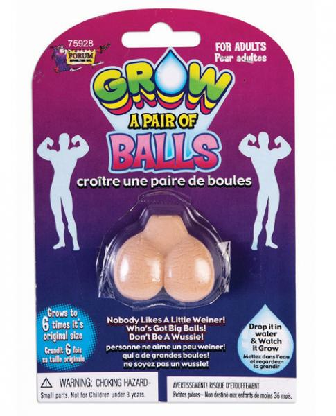 Grow Your Own Balls