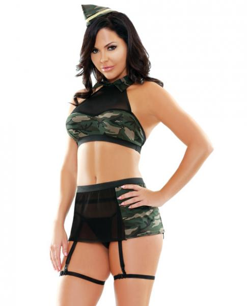 Play 5 Piece Go Commando Camo M/L