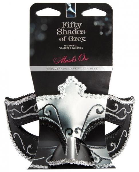 Masquerade Masks Twin Pack