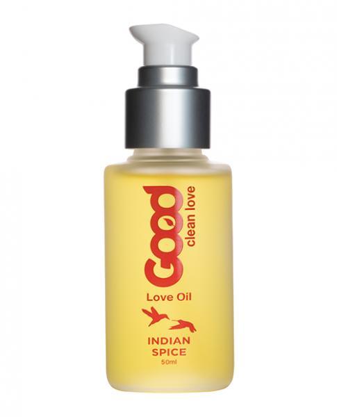Good Clean Love Indian Spice Love Oil 1.69oz