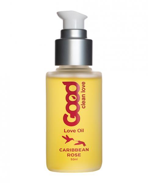 Good Clean Love Caribbean Rose Love Oil 1.69oz